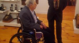 Two World War II veterans reminiscing