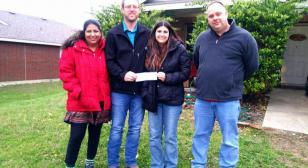Royse City, Texas, post raises $3,500 for family in need