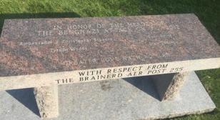 Benghazi memorial dedicated at Minnesota State Veterans Cemetery - Little Falls