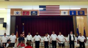Legion Hall, Post 22 (Lodi, Calif.), hosts musicians and young singers