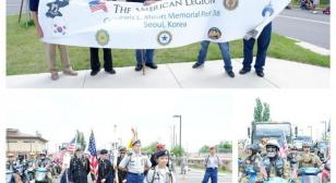 Col. Lewis L. Millett Memorial Post 38 South Korea - Armed Forces Day Parade at Osan Air Force Base