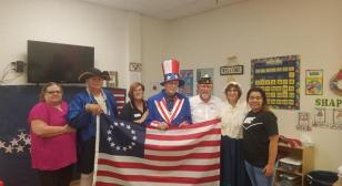 Flag Day event held in Cleburne, Texas