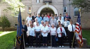 Post 1836 of Woodside, N.Y. holds Memorial Day ceremony