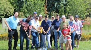 Erwin Prieskorn Post 46 procures a flagpole for the community and its veterans