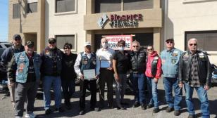 Hospice of Havasu honored by Riders