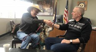 Army special forces dog, turned service dog, stars in documentary