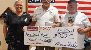 Musicians donate to help homeless vets