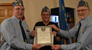 Gladstone (Mich.) August Mattson Sons of The American Legion honors continuous membership