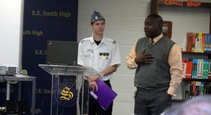 Young SAL vice commander speaks to military task force