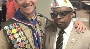 Eagle Scout helps veterans with membership