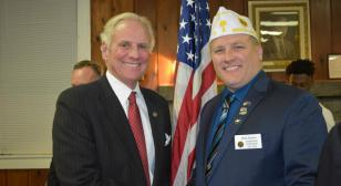 South Carolina governor joins Post 71