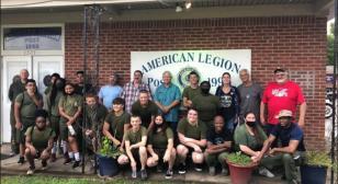 SAL Desoto Squadron 1990 supports local Marine Corps JROTC program