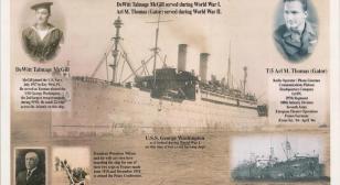 USS George Washington service, WWI and WWII