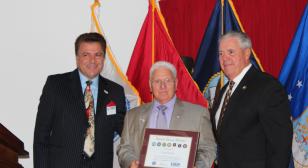Mercer County, N.J., Legion vice commander receives DoD office honor