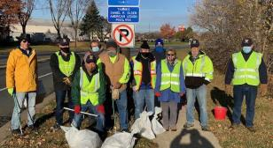 Daniel R. Olsen Post 594 supports town clean-up