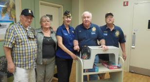 American Legion Post 555  Calls Bingo at VA Long Beach