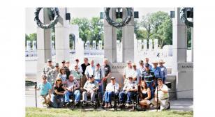 WWII group from Kansas enjoys Honor Flight reunion