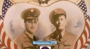 Paris reunion of Cordova brothers (Alfred & Paul)