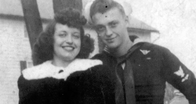 Couple torn apart during war reunites more than 50 years later