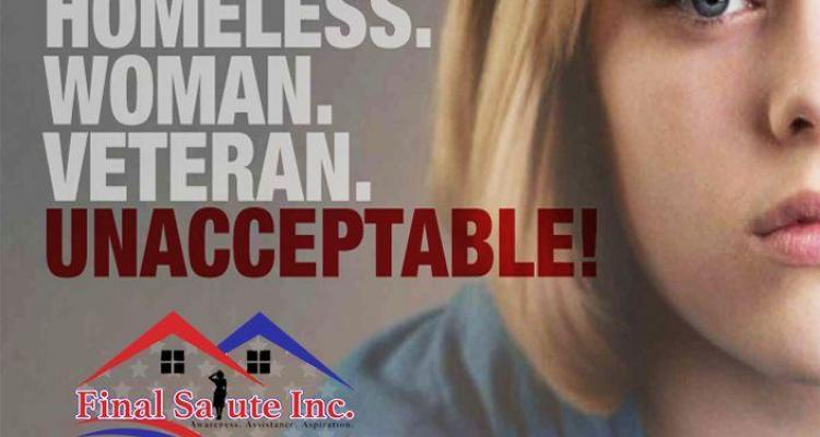 WE NEED TO DO MORE TO HELP HOMELESS FEMALE VETERANS