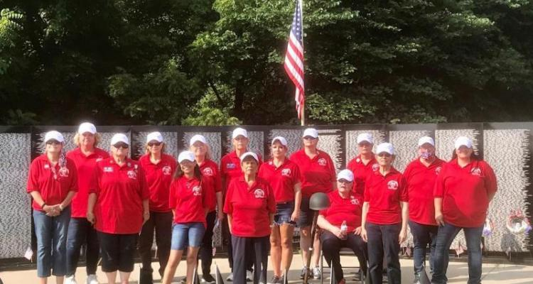 Post 1214 Honors Women Whose Names Appear On Vietnam Memorial Wall
